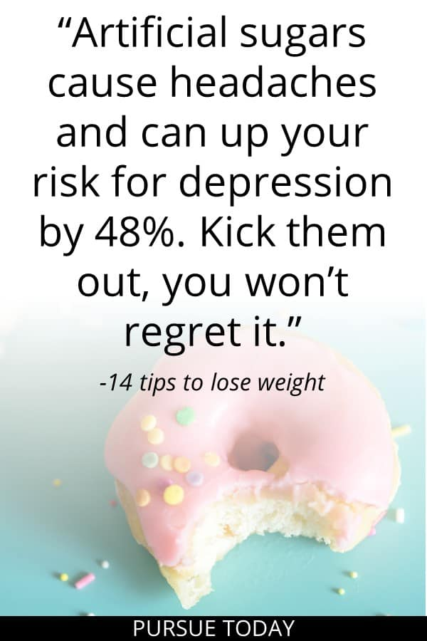 14 tips to lose weight