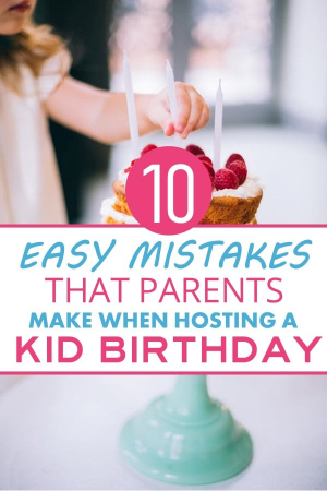 "I have attended enough kid birthday parties to know how to royally screw up your party. In this article, I'll help you learn the best ways to ruin a birthday so you can avoid being ""that"" parent. Toddler and baby birthday party tips. How to throw a great birthday party for your child. Baby birthday party ideas. Toddler birthday party ideas. #KidBirthday #ToddlerBirthday #BabyBirthday"