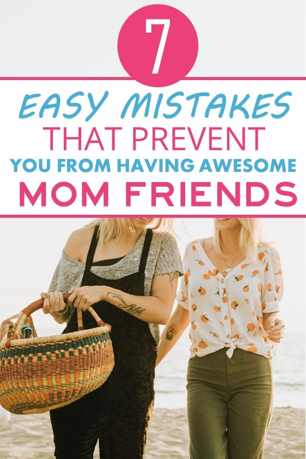 Having mom friends is an absolute must of parenthood. Once you have kids you won't be able to relate to anyone who doesn't. They will be on an absolute opposite schedule than you unable to understand your crazy day to day.It might take awhile to find those perfect mom friends. But when you do, you will know they are awesome because they won't do any of these things. Here are seven ways that moms repel potential mom friends. How to make mom friends. How to keep mom friends #parenting #momfriends