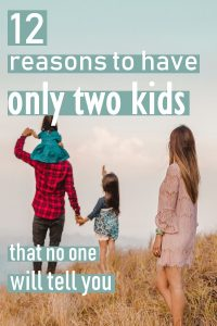 Each family has a perfect amount of kids that is right for them. For us it's two, here I'll share with you all the reasons why two is perfect for us. For other families, it might be one kid or nine. To know when you have reached that number use all of the points in this article when you are making the decision of two kids versus three. #parenthood #family #motherhood #maternity #babies