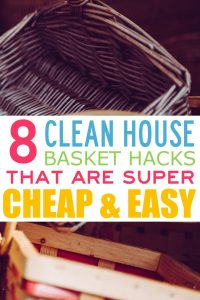 Until you start really using baskets in your house and using them to their fullest advantage, you don't really understand how much organization they can provide. Since adding baskets, our house clutter has dramatically decreased, clean up is easier and faster, not to mention they are excellent house décor. So, here is where and how I started using baskets in our home. How to reduce clutter. How to keep a clean house. How to organize your home. #homedecor #organization #momlife