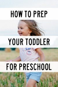 Starting preschool is a big deal. Your child is starting their first day of school. Guide to starting preschool. Prepare child for preschool. Prepare toddler for preschool. What to do to get ready for preschool. Preschool tips to make transition easier. How to make preschool dropoff easier when the child does not want to go. #preschool #toddlers #parenting #motherhood #backtoschool