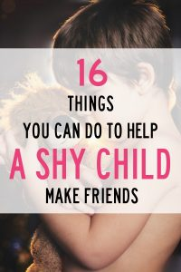 Here I have outlined how I have helped my toddler, preschooler and elementary aged kid enter play and make friends. I focus on specific settings that are great for building social skills and confidence that you will want to take advantage of. Tips for helping a shy child make friends and improve their social skills.